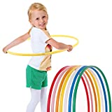 Hoopomania Children's Hula Hoop, Children's, Kinder Hula Hoop, Gelb, Ø60cm, yellow, 60 cm