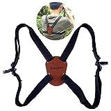 Lixada Eyeskey Universal Fernglas Harness Strap Quick Release Verstellbarer Gurt für Ferngläser Kameras Entfernungsmesser