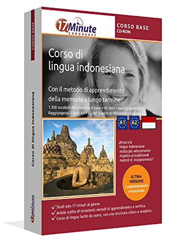 Corso di Indonesiano (CORSO BASE): Software di apprendimento su CD-ROM