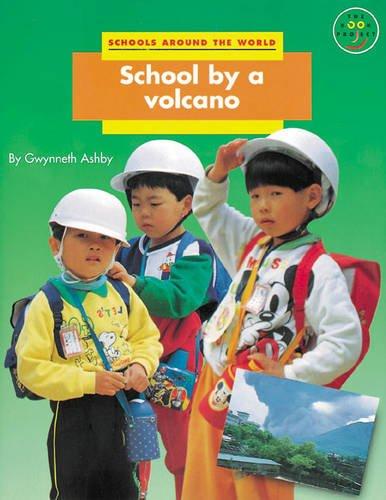 School by a volcano.