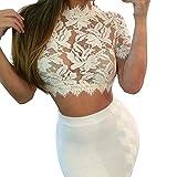 Bluse, Dirndlbluse, Gr. 34/36 Kann auch ohne Dirndl getragen werden, weiß, Baumwolle/Polyester, Spitze lange Ärmel, super modern, tolles Geschenk, lange Bluse, extravagant, Tracht, Trachtenbluse weiss