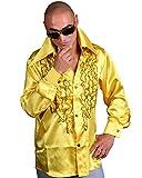 Schlagerhemd gelb
