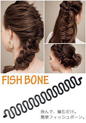 3pieces DIY mujeres pelo estilo francés clip de pelo estilo para enrollar el cabello, hacer moños y trenzas accesorios para el pelo giro trenza pelo trenzado herramienta negro