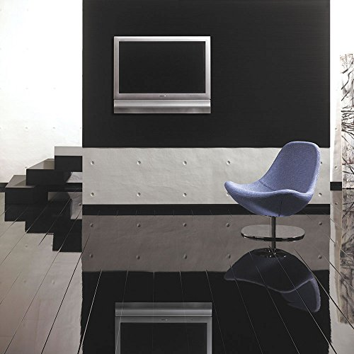 HDM Glamour Life Hochglanz Laminat - Color Black/schwarz - NKL 32-1294 x 185 x 8 mm - Superglanz - Elesgo on TOP -