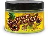 Quantum Erwachsene Grundfutter und Köder Pulver 50g Radical Yellow Zombie