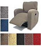 Orly'sDream Orly's Dream Pique Stretch Fit Furniture Chair Recliner Lazy Boy Cover Slipcover