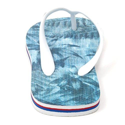 B5042 infradito donna COLMAR scarpa azzurro gomma rubber shoe flip flop woman Azzurro