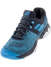 buy online 45689 6d37b Babolat Hommes Propulse Blast Allcourt Chaussures De Tennis Chaussure Tout  Terrain Bleu - Bleu Foncé 40