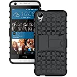 Dream2cool Hybrid Military Grade Armor Kick Stand Back Cover Case For HTC Desire 626 626G+ (Black)