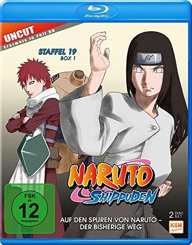 Naruto Shippuden – Auf den Spuren von Narujo – Der bisherige Weg – Staffel 19.1: Folgen 614-623 – Uncut [Blu-ray]
