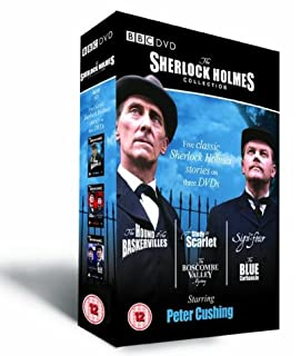 The Sherlock Holmes Collection Box Set [DVD] (B00023JH5O) | Amazon price tracker / tracking, Amazon price history charts, Amazon price watches, Amazon price drop alerts