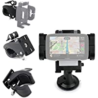 DURAGADGET Soporte para GPS Tomtom One 3rd Edition, Start 42 / EasySMX 84H-3