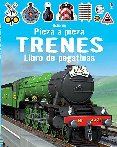 Trenes. Pieza A Pieza. Libro De Pegatinas