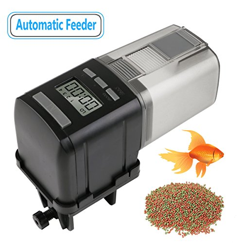 RCruning-EU Alimentador Automático Acuario Peces