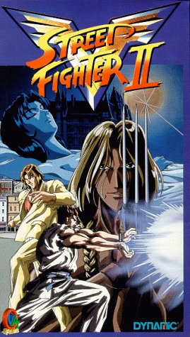 Preisvergleich Produktbild Street Fighter 2 - TV Serie Reedition 4-Eps14-17 - Anime [VHS]