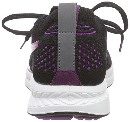 Puma Ignite Proknit Wn's, Chaussures de course femme Noir - Schwarz (black-purple cactus flower-white 07)