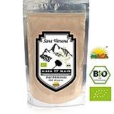 BIO Maca Fit nera 500g puro organico radice di maca in polvere di Maca del Perù powder originale è fantastico per stimolare i livelli di energia prima di esercizio fisico ad alta naturale di