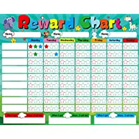 BAR Childrens Magnetic Reward Chart Chores and Behavior