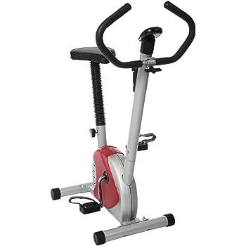 mymotto Bicicleta Estática Bicicleta Plegable Magnética Ejercicio en Casa Pantalla LED Max 110 kg