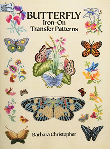 Butterfly Iron Transfer Patterns Dover