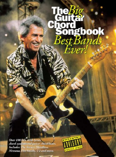 The Big Guitar Chord Songbook Best Bands Ever!