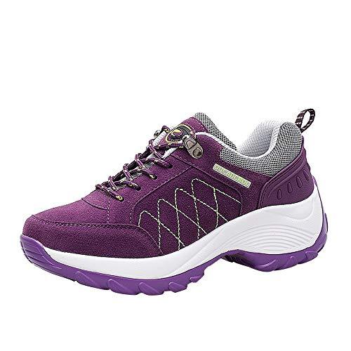 ❤️ Mode Damen warm Trekking Sneaker, Amlaiworld Herbst Gemütlich Stilvoll Laufschuhe Casual Bequeme Outdoor Fitnessschuhe Frauen Freizeit Atmungsaktiv Schuhe