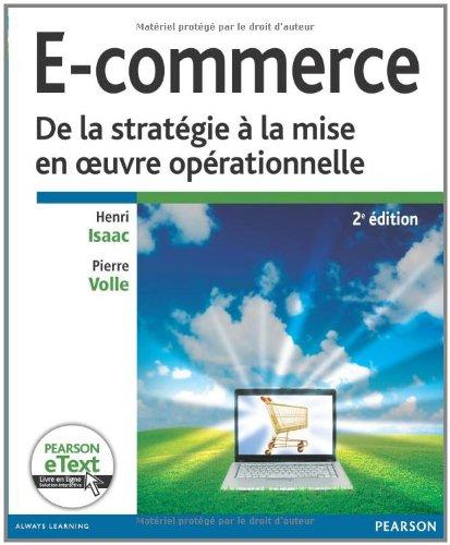E-commerce : De la stratégie à la mise en oeuvre opérationnelle