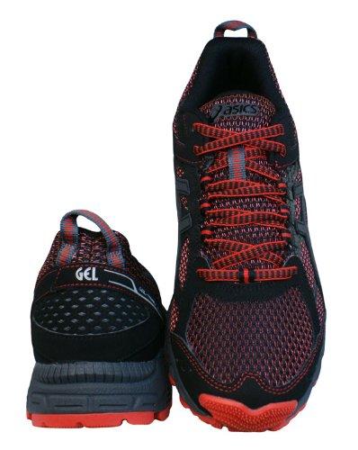 Asics Gel-Trail Lahar 5 Laufschuhe Trekking Schuhe Trail Red/Charcoal/Black