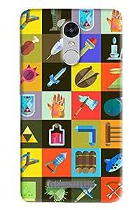 Expert Deal 3D Printed Hard Designer Xiaomi Redmi Note 3 Mobile Back Cover Case Cover