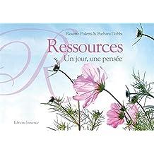 Ressources : Un jour, une pensée