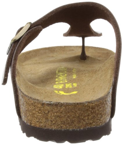 Birkenstock Gizeh 812 UK223, Damen Sandalen Braun (Toffee)