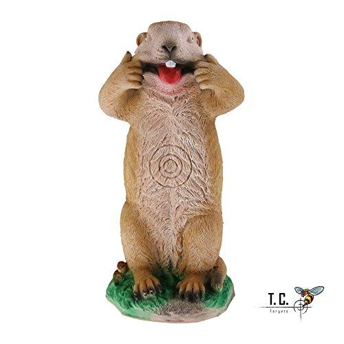 3D Tier Crazy Mike Murmeltier 3D Tier 3D Zielscheibe