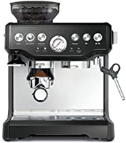 Sage SES875BKS The Barista Express Machine, Black Sesame with 1 year distributor warranty