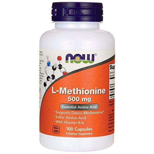 L-Metionina 500 magnesio del magnesio magnesio 10 + 500 B6. - 100 Capsule