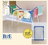 B&E Home Essential - Foldable Clothes Drying Rack Drying Airer - YLT0507