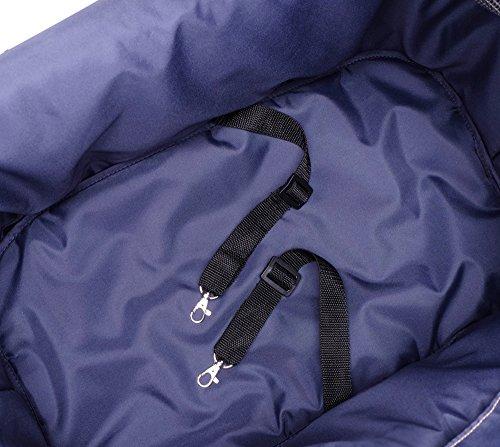 IbiyayaExpress Travel System Denim Pet Stroller 9