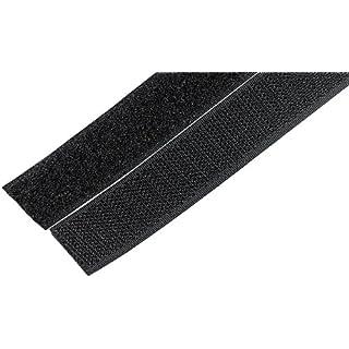 Selbstklebende Klettverschluss-Rolle (Haken- & Flauschband) 20mmx10m