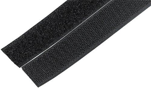 Preisvergleich Produktbild Selbstklebende Klettverschluss-Rolle (Haken- & Flauschband) 20mmx5m