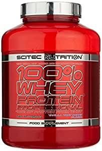 Scitec Nutrition Whey Protein Professional Vanilla Very Berry, 1er Pack (1 x 2350 g)