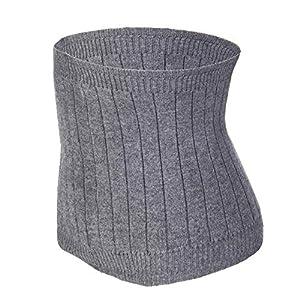 YJZQ Thermo-Lendenwirbelstütze, Kaschmir-Strick, Bauchwärmer/Bauchbinder, Taillen-Trimmer, nach der Geburt