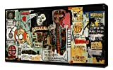 Lilarama Notary - Jean Michel Basquiat - Art Leinwandbild - Kunstdrucke - Gemälde Wandbilder