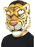Smiffys Máscara de Tigre, Amarillo y Negro, EVA