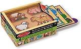 Melissa & Doug Animals Mini-Puzzle Pack