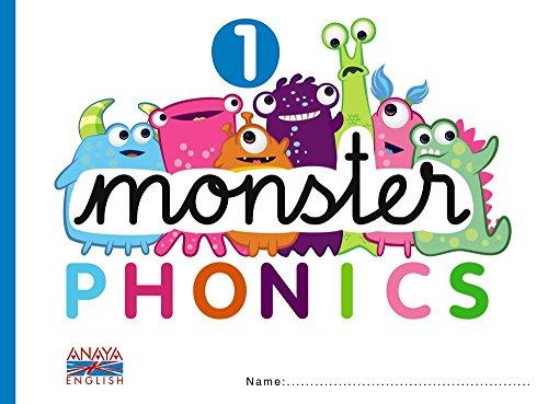 Monster Phonics 1. (Anaya English) - 9788467832709