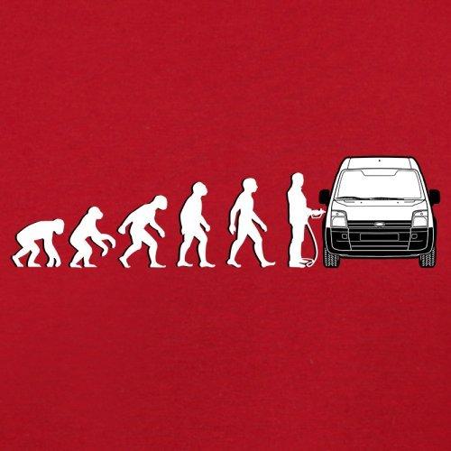 Evolution of Man - Transit Fahrer - Damen T-Shirt - 14 Farben Rot