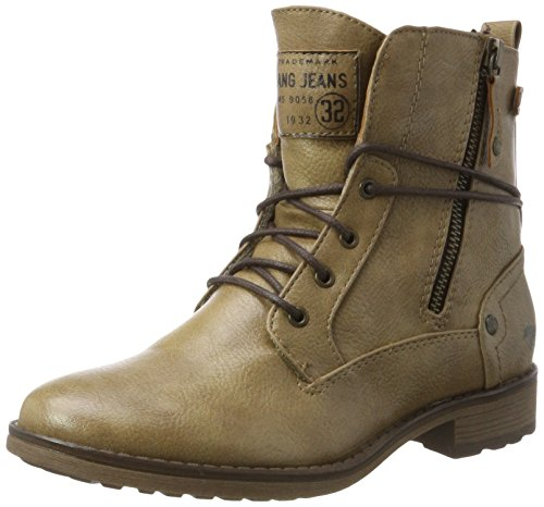 Mustang 1265-505-318, Bottes Femme Marron (taupe)