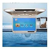 Caricabatterie USB Car TV Monitor da soffitto Tipo 22 Pollici Grande Schermo HD 1080P Car LCD TV Adatto per VGA HDMI SD FM