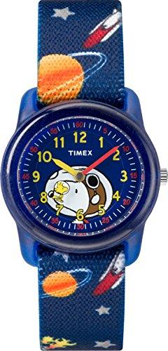 Timex Jungen Zeitlernuhr Quarz Uhr mit Nylon Armband TW2R41800