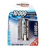 Ansmann 5030652 Mono D 10000mAh NiMH Akku 1er Pack