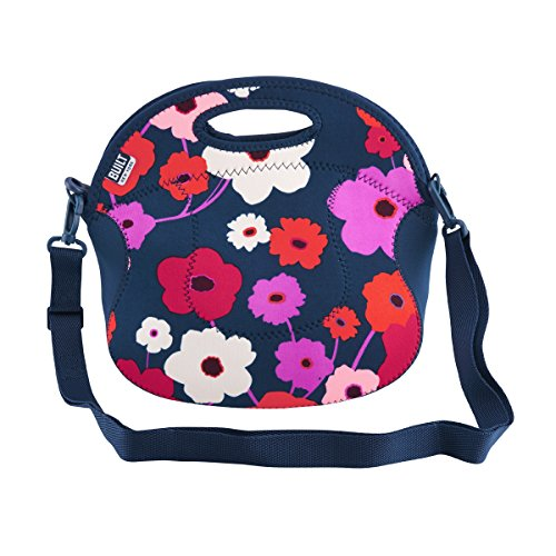 built-ny-spicy-relish-neoprene-lunch-bag-with-adjustable-crossbody-strap-lush-flower